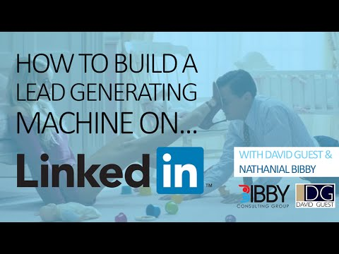 LinkedIn - Build Your Lead Generating Machine | Outcomes Business Group