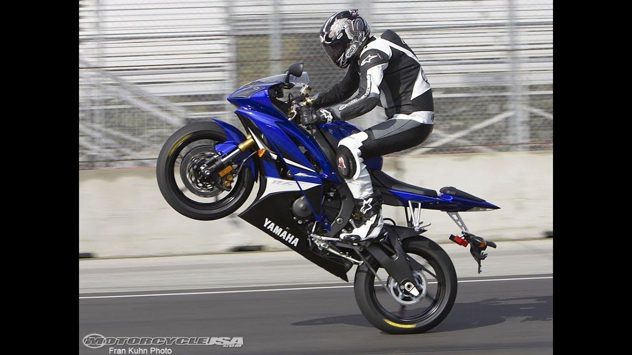 2008 Yamaha YZF-R6 First Ride - MotoUSA - YouTube