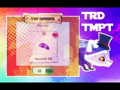 ANIMAL JAM PLAY WILD - TRADE ATTEMPTS: RACCOON TAIL