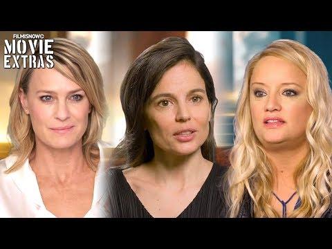 Wonder Woman  Onset visit with Robin Wright 'Antipoe', Elena Anaya 'Dr. Maru' & Lucy Davis 'Etta'