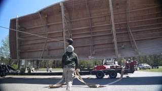 Paul Mann Custom Boats: Flip of 76-foot Hull 139 FULLTIME