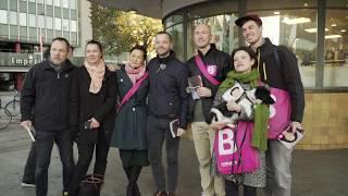 Vild med valgkamp - Med Morten til morgenuddeling i København