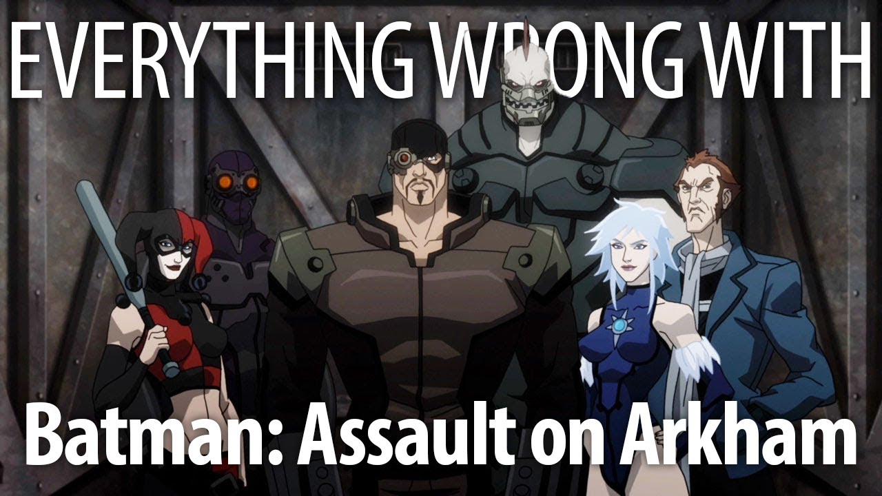Download Everything Wrong With Batman: Assault on Arkham in 17 Minutes or Less