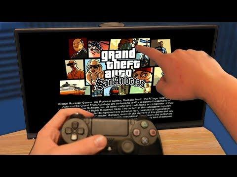 МОЙ ПЕРВЫЙ ЗАПУСК GTA SAN ANDREAS НА PLAYSTATION 4 - КАК ОНА ВЫГЛЯДИТ?