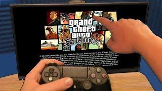 Мой первый запуск GTA San Andreas на Playstation 4...😱