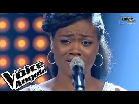 "Valércya Nzollani com ""Broken Hearted Girl"" / The Voice Angola 2015 / Show ao Vivo 3"