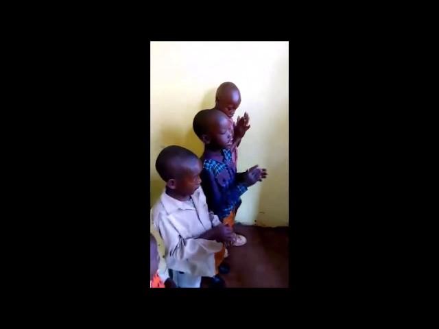4 Year Old Leading Worship in Moi's Bridge Kenya Fellowship
