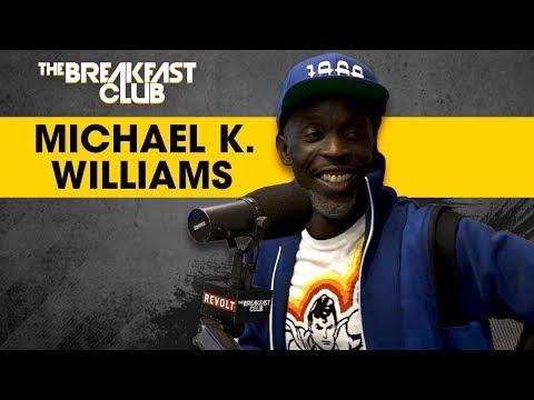 Michael K. Williams Talks His Role In...