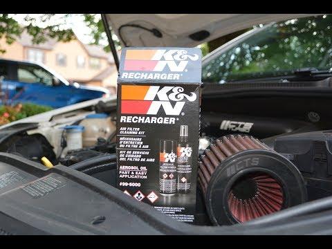 Easy Intake Filter Cleaning! ( K&N Recharge Kit ! )