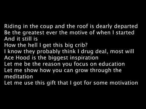 Ace Hood - Wishful Thinking (Lyrics)