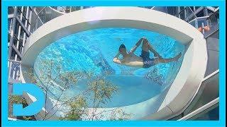Incredible Glass Bottom Swimming Pool