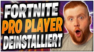 💀🚫Fortnite Pro deinstalliert sein Game | Kill mich arm Turnier