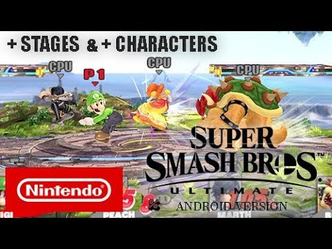 Super Smash Bros. Ultimate for Android / PC - All Characters & Stages Showcase thumbnail
