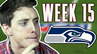 THE END IS NEAR!!! -  LazarBeam Predicts NFL Week 15! ( NFL News and Predictions)