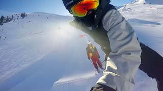Les 3 Vallées Skiing & Snowboarding - Val Thorens 2015 - La Folie Douce - GoPro Hero 4 HD