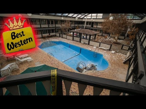 Abandoned Best Western With Everything Left Behind