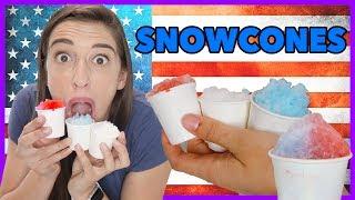 4th Of July Snow Cones!