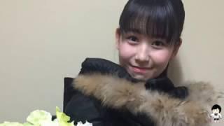 2016年8月から2017年3月の笠原桃奈.