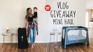 Vlog: I'm Giving Away A 4Moms Playard + Glossier Mini Haul ! | HAUSOFCOLOR