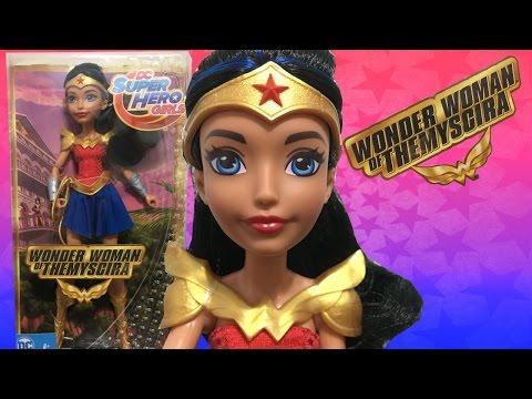 DC SUPERHERO GIRLS WONDER WOMAN OF THEMYSCIRA DOLL REVIEW