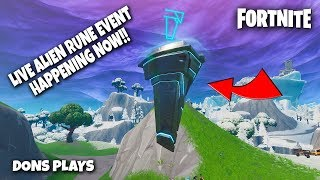 🔴 FORTNITE LIVE ALIEN RUNE EVENT HAPPENING NOW!!! || 300 LIKE GOAL || ! GIVEAWAY 🔴