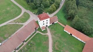 Hovdala Slott från ovan Augusti 2018