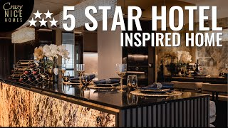 Inside A $200k HDB Reno Luxury Smart Home + Stunning Gold Bar | HDB DBSS Home Tour