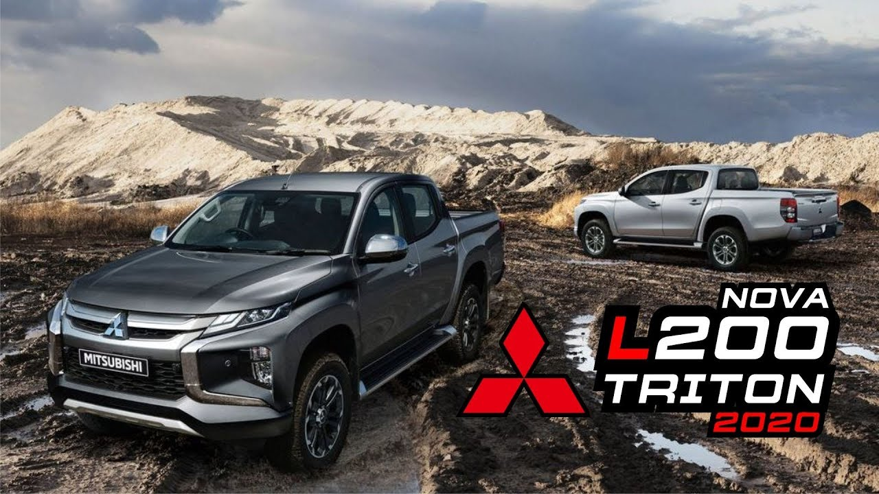 nova l200 triton 2020  new mitsubishi l200  youtube