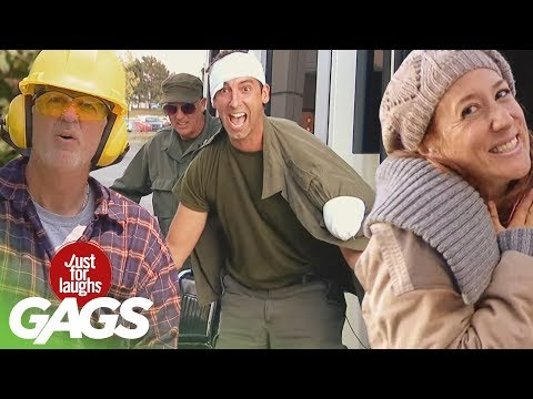 Bad Parents, Evil Mailmen, & The Worst Kind of Joke  | JFL Throwback Pranks