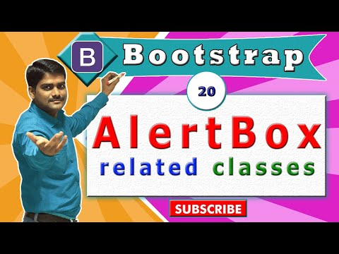 Bootstrap Tutorial 20 - Alert box Related Classes in Bootstrap thumbnail