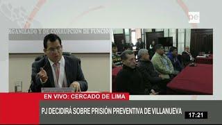 César Villanueva: le dictan 18 meses de prisión preventiva