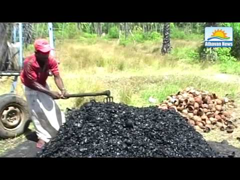 Puttalam Coconut shell charcoal exports to abroad