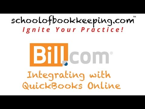 bill.com-lesson-1-part-1---integrating-with-quickbooks-online