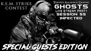 ☢GHOSTS: Infected - Session 55 (Xbox 360 Server) K.E.M. STRIKE CONTEST