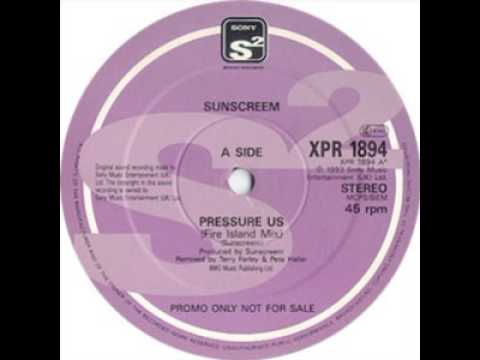 Sunscreem Pressure US Junior Dub