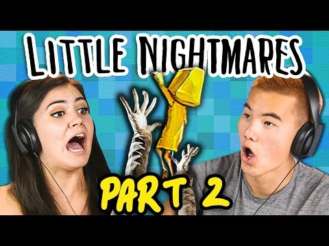 BEWARE THE JANITOR!! | LITTLE NIGHTMARES - Part 2 (React: Gaming)