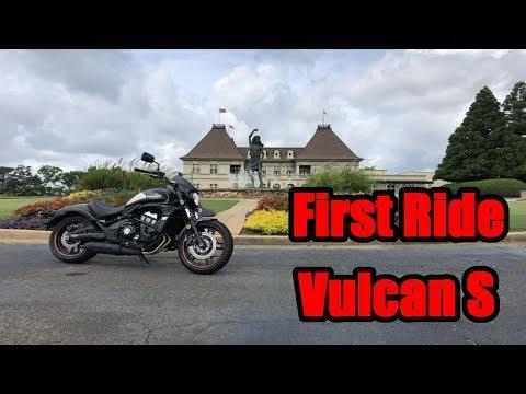 Kawasaki Vulcan S First Ride Review