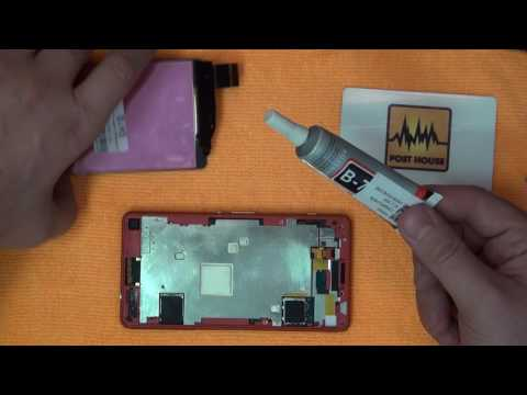 #014 Screen Replacement / Замена экрана. Работа над ошибками [ Sony Xperia Z3 Compact ]