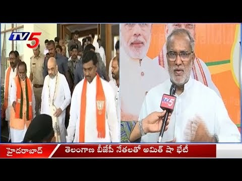 BJP Leader Perala Sekhar Rao Face To Face On Amit Shah Tour | TV5 News