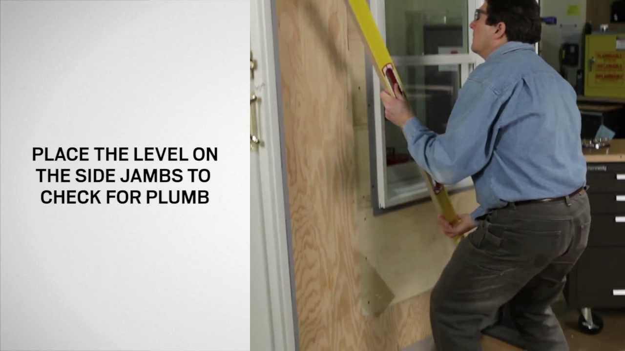 How to Determine if Your Window is Plumb Level and Square & How to Determine if Your Window is Plumb Level and Square - YouTube pezcame.com