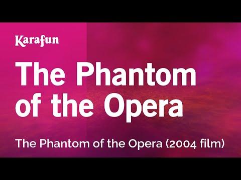 Karaoke The Phantom Of The Opera - The Phantom Of The Opera (musical) *