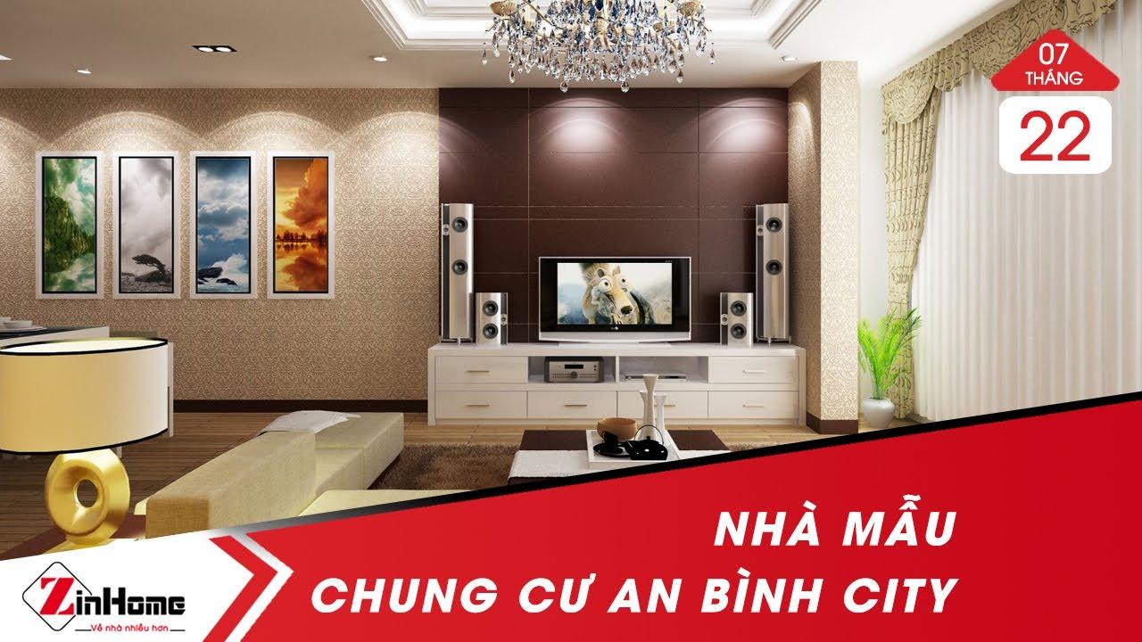 Căn hộ mẫu dự án chung cư An Bình City và nội thất bàn giao