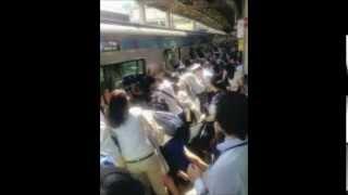 JR南浦和駅 みんなで車両押�...