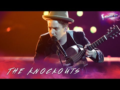 The Knockouts: AP D'Antonio sings Across The Universe | The Voice Australia 2018