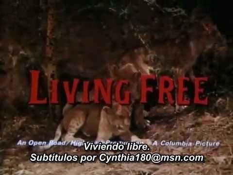 Living Free (1972). Trailer. Subtitulado al español.avi