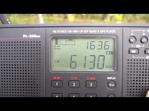 6130 kHz-Lao National Radio(Vientiane)(Laos)~7302 km 50 kW