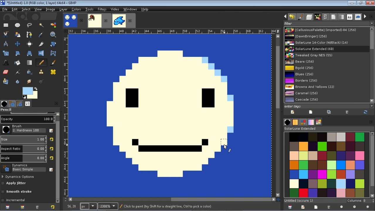 Pixel Art Tips 9 Basic Anti Aliasing