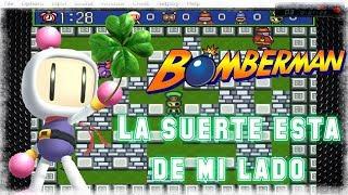👾La suerte me acompaña // Super Bomberman 5💣