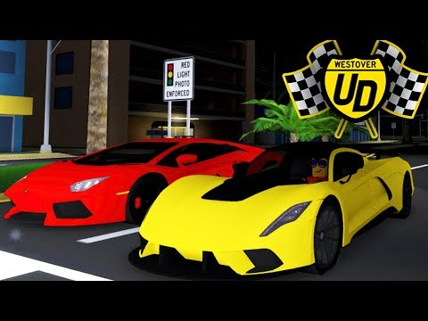 RACING UPDATE W/ NEW CARS In Roblox!! - (Ultimate Driving Simulator)