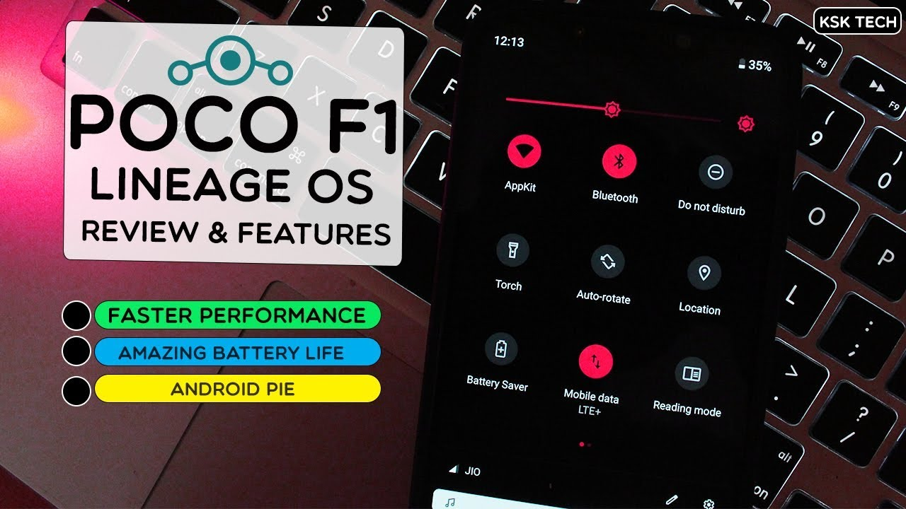 Poco F1 - Lineage OS (Android 9 0 Pie ) Review | Features